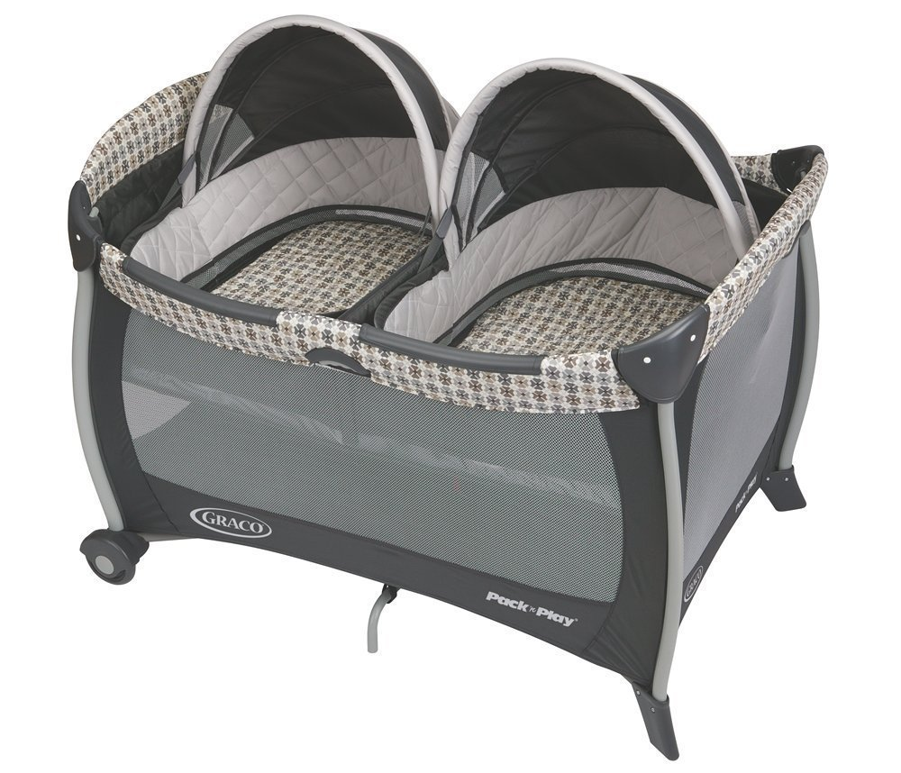Graco Pack n Play Playard with Twins Bassinet