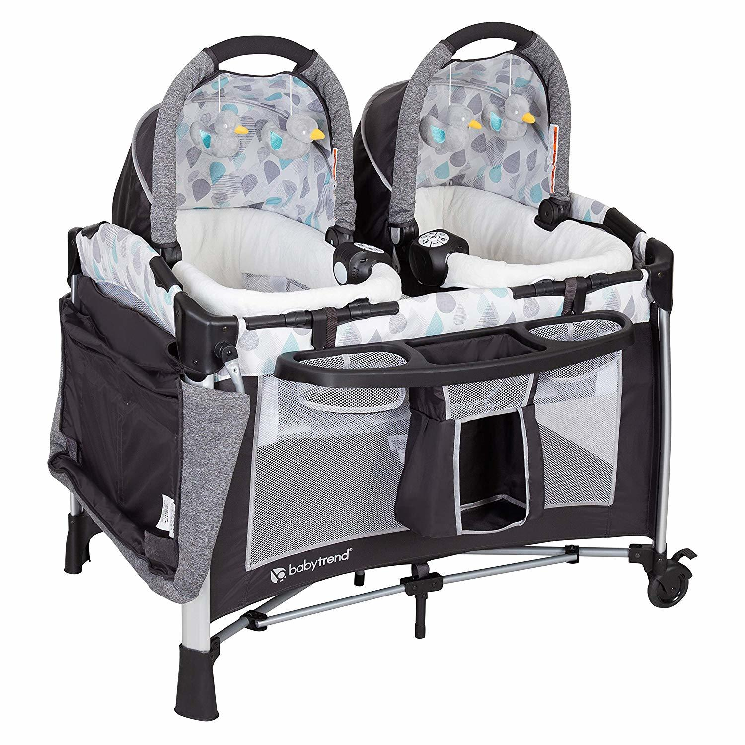 Baby Trend Go Lite Twins Nursery Center