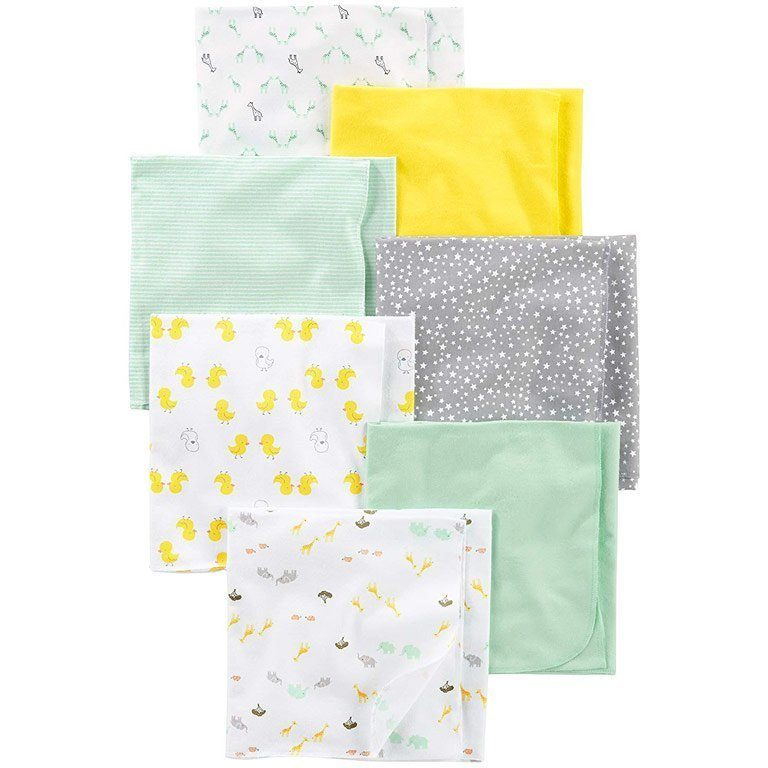 Simple Joys by Carter's Baby Flannel Receiving Blankets