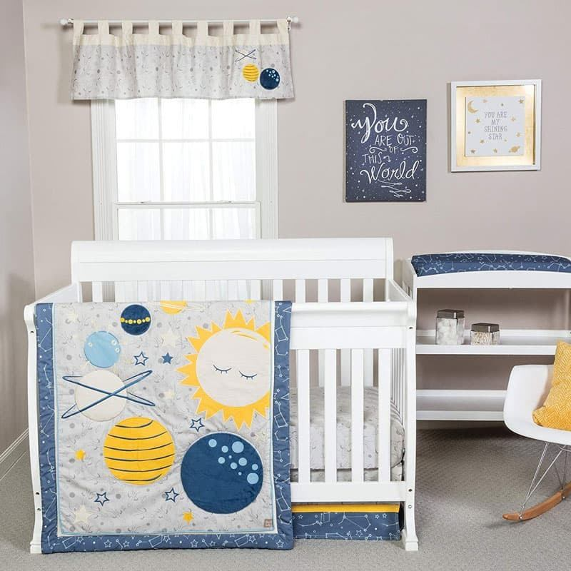 World Ideas For A Space Themed Nursery